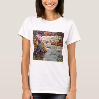 T-shirt Pêche de truite au-dessous des automnes