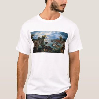 T-shirt Pêche pour des âmes par Adriaen van de Venne