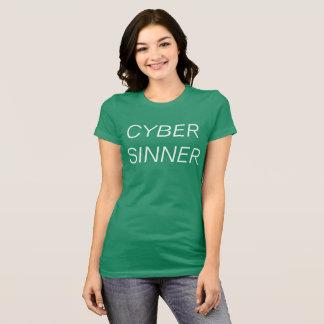 T-shirt pécheur de cyber
