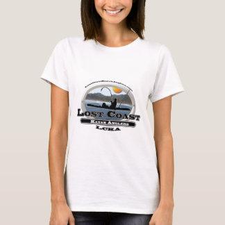 T-shirt Pêcheurs à la ligne perdus de kayak de côte