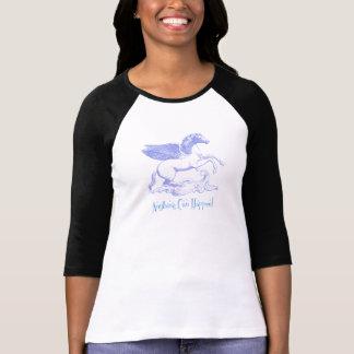 """T-shirt Pegasus """"quelque chose peut se produire ! """""""