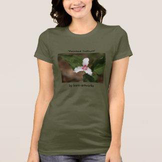 T-shirt peint de Trillium
