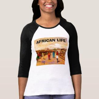 T-shirt PEINTURE 8bb, la VIE AFRICAINE