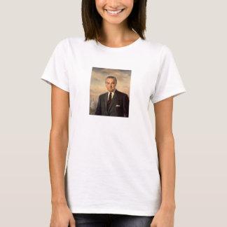 T-shirt Peinture du Président Lyndon Johnson