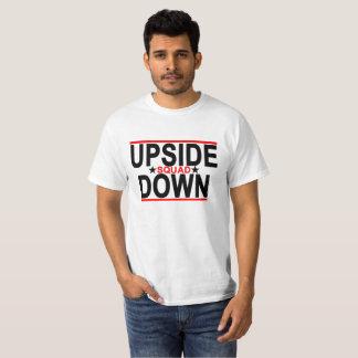 T-shirt Peloton à l'envers.