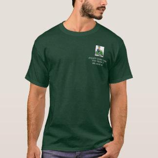 T-shirt pelouse fauchant, soin de la pelouse de Jason vous