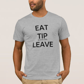 T-shirt pensées d'une serveuse