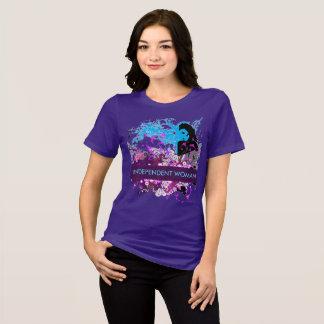T-shirt Pensées profondes d'une femme indépendante