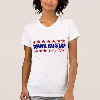 T-shirt Pensez Kostan !