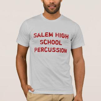 T-shirt Percussion de lycée de Salem