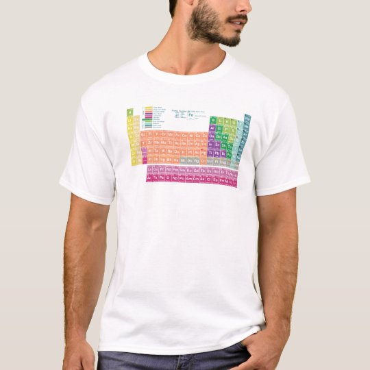 T-Shirt periodic table of elements