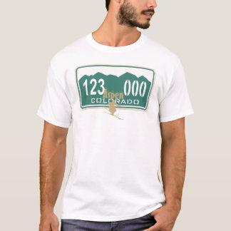 T-shirt Permis de ski d'Aspen d'or