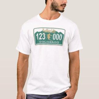 T-shirt Permis de ski de tellurure d'or