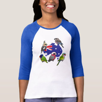 T-shirt Perroquets australiens