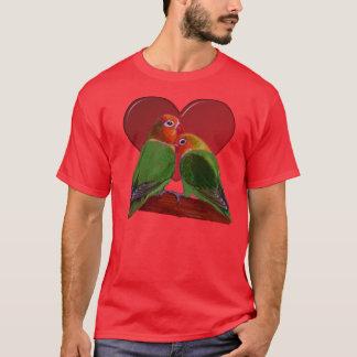 T-shirt - perruches de Saint-Valentin