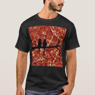 T-shirt PERRUCHES : RESTES du ~ de JOUR (conception