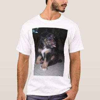 T-shirt *personalize* de framboise de chiot