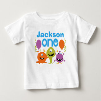 T-shirt personnalisé d'anniversaire des monstres