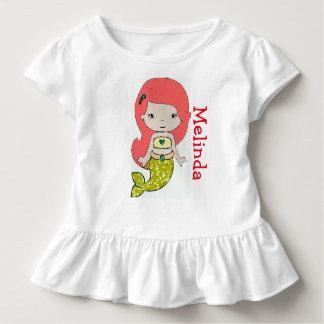 T-shirt personnalisé d'une seule pièce de bébé de