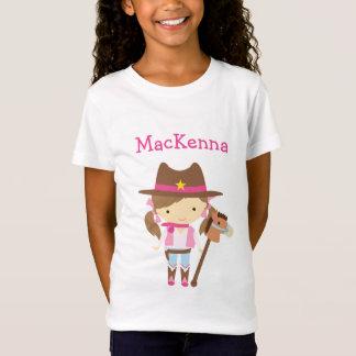 T-shirt personnalisé par cow-girl