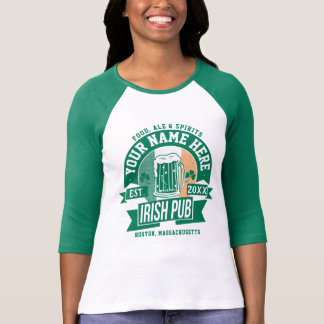 T-shirt Personnalisez ceci Jour de la Saint Patrick