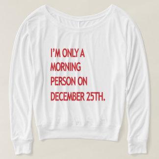 T-shirt Personne de matin