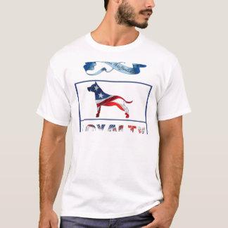 T-shirt Personnel d'Américain de Pitbull. Fidélité