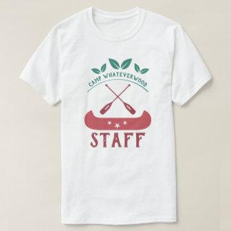 T-shirt Personnel de Whateverwood de camp