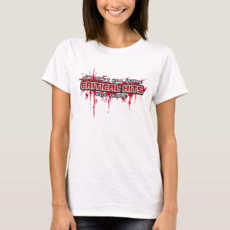 T-shirt Personnes critiques de mise à mort de coups