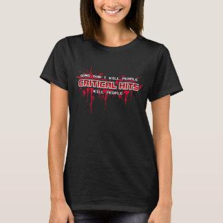 T-shirt Personnes critiques de mise à mort de coups (noir)