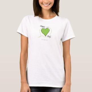 T-shirt Pet heureux Valentine - habillement
