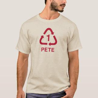 T-shirt PETER réutilisant la framboise de pièce en t