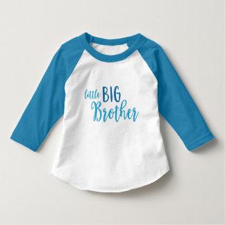 T-shirt Petit frère bleu