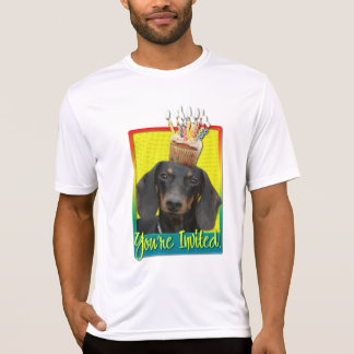 T-shirt Petit gâteau d'invitation - teckel - Winston