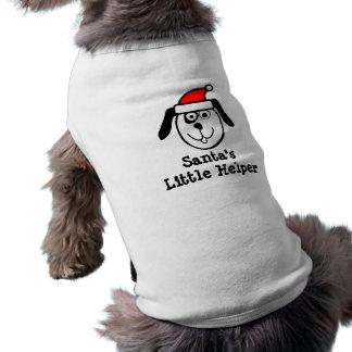 T-shirt Petit habillement d'animal familier de Noël de