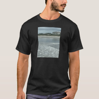 T-shirt Petit héron sur la plage