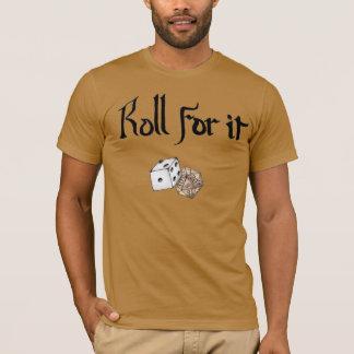 T-shirt Petit pain pour lui ! (Cachots et dragons