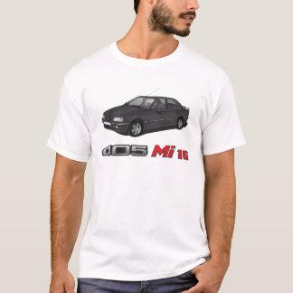 T-shirt Peugeot 405 avec l'insigne de rouge de MI 16,