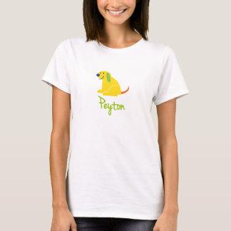 T-shirt Peyton aime des chiots