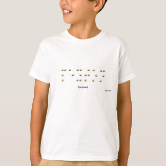 T-shirt Peyton dans le braille