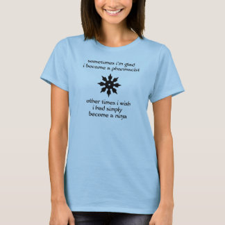 T-shirt Pharmacien de Ninja