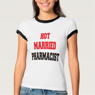 T-shirt Pharmacien marié chaud