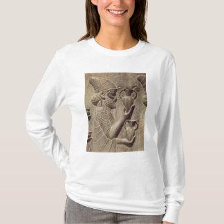 T-shirt Phénicien portant deux offrant, soulagement de