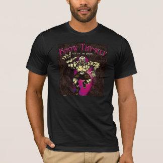 T-shirt Phénomène de nature - connaissez Thyself et vivez