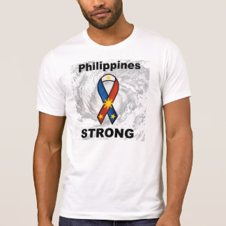 T-shirt Philippines fortes