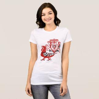T-shirt Phoenix rouge