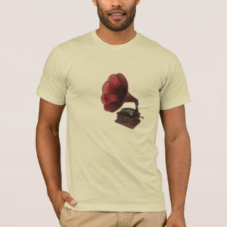 T-shirt Phonographe antique