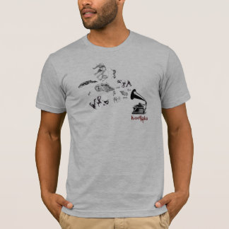 T-shirt Phonographe de Kodiaks
