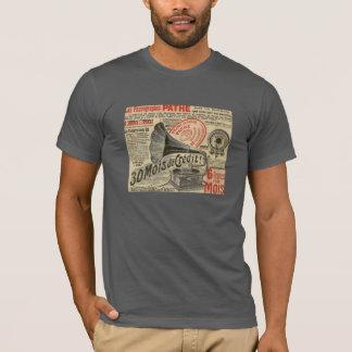 T-shirt Phonographes Pathé