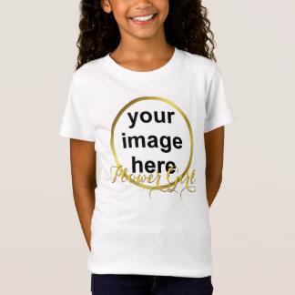 T-Shirt Photo élégante moderne de DEMOISELLE DE HONNEUR de